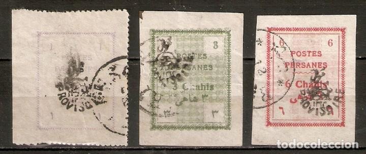 IRÁN. 1906. YT 234,245,246 (Sellos - Extranjero - Asia - Irán)