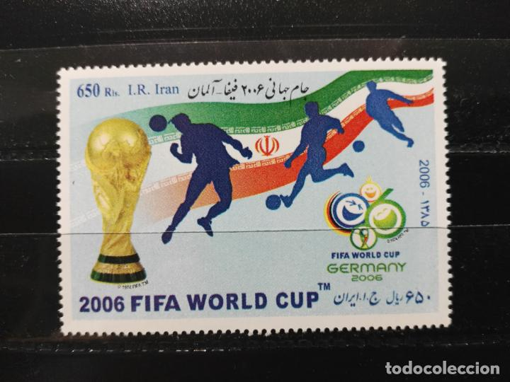 IRÁN. YVERT 2737. DEPORTES. COPA MUNDIAL DE FUTBOL. ALEMANIA 2006 NUEVOS (Sellos - Extranjero - Asia - Irán)