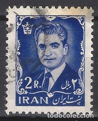 IRÁN 1962 - SHA REZA PAHLAVÍ - SELLO USADO (Sellos - Extranjero - Asia - Irán)