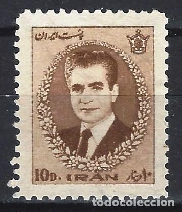 IRÁN 1966 - SHA REZA PAHLAVÍ - SELLO NUEVO ** (Sellos - Extranjero - Asia - Irán)