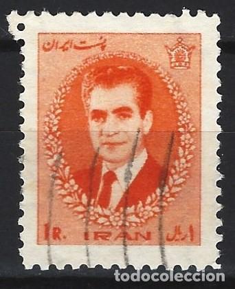 IRÁN 1966 - SHA REZA PAHLAVÍ - SELLO USADO (Sellos - Extranjero - Asia - Irán)