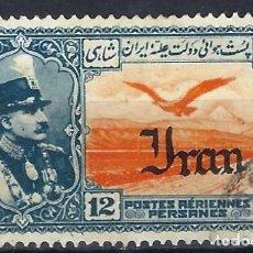 Sellos: IRÁN 1935 - SERIE DE 1930, SOBREIMPRESO IRAN - SELLO USADO. Lote 210624335