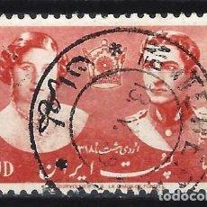 Sellos: IRÁN 1939 - BODA REAL ENTRE MOHAMMAD REZA Y FAWZIA FUAD - SELLO USADO. Lote 210624400