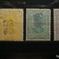Sellos: /05.09/-IRAN / PERSIA-1899-Y&T 99A/101A-SELLOS EN NUEVO CON CHARNELA(**MLH)-VER IMAGENES. Lote 216812536
