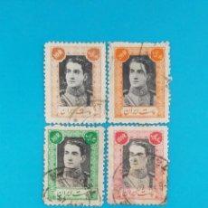 Sellos: SELLOS POSTALES IRÁN, MOHAMMAD REZA SHAH PAHLAVI, 1942 - 1945. Lote 219621876