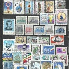 Sellos: Q706-LOTE ORIENTE MEDIO SELLOS PERSIA IRAN SIN REPETIDOS ,SIN TASAR, FORO REAL.ANTIGUOS SELLOS ASIA.. Lote 221435748