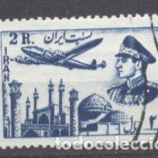 Sellos: IRAN, 1953, SHAH REZA PAHLAVI. Lote 236775210