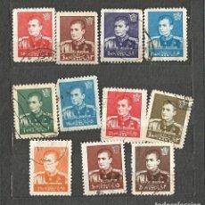 Sellos: IRÁN/PERSIA - 1959 - REZA SHAH PAHLAVI - 11 VALORES - USADOS. Lote 256121805
