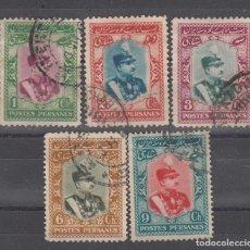 Sellos: IRAN. 5 SELLOS USADOS DE 1929.. Lote 292230363