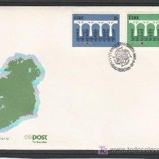 Sellos: IRLANDA 541/2 PRIMER DIA, TEMA EUROPA 1984, 25º ANIVERSARIO CONFERENCIA EUROPEA. Lote 11527348