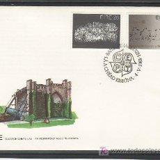 Sellos: IRLANDA 504/5 PRIMER DIA, TEMA EUROPA 1983,GRANDES OBRAS DE LA HUMANIDAD, . Lote 11496696