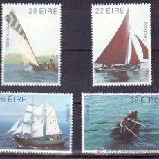 Sellos: IRLANDA 479/82 SIN CHARNELA, BARCO DE VELA Y REMO,. Lote 7967215