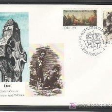 Sellos: IRLANDA 467/8 PRIMER DIA, TEMA EUROPA 1982, HECHOS HISTORICOS, PINTURA, RELIGION, . Lote 11527343