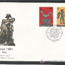 Sellos: IRLANDA 440/1 PRIMER DIA, TEMA EUROPA 1981, FOLKLORE, . Lote 11329449