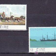 Sellos: IRLANDA 415/6 SIN CHARNELA, TEMA EUROPA 1979, HISTORIA DEL SERVICIO DE CORREO, BARCO, . Lote 11826823