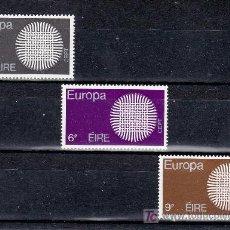 Sellos: IRLANDA 241/3 SIN CHARNELA, TEMA EUROPA 1970, . Lote 11598395