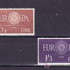 Sellos: IRLANDA 146/7 SIN CHARNELA, TEMA EUROPA 1960, . Lote 10572742