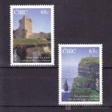 Sellos: IRLANDA 1582/3 SIN CHARNELA, TEMA EUROPA 2004, VACACIONES, ARQUITECTURA, . Lote 10571616