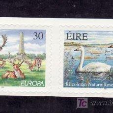 Sellos: IRLANDA 1145/6 SIN CHARNELA, TEMA EUROPA 1999, RESERVAS Y PARQUES NACIONALES, FAUNA, . Lote 10571891