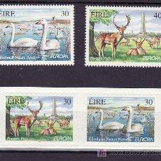 Sellos: IRLANDA 1143/6 SIN CHARNELA, TEMA EUROPA 1999, RESERVAS Y PARQUES NACIONALES, FAUNA, . Lote 11417426