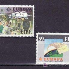 Sellos: IRLANDA 653/4 SIN CHARNELA, TEMA EUROPA 1988, TRANSPORTES Y COMUNICACIONES, AVIACION,. Lote 11456201