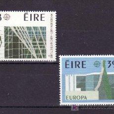 Sellos: IRLANDA 626/7 SIN CHARNELA, TEMA EUROPA 1987, ARQUITECTURA MODERNA, . Lote 12009150