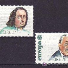 Sellos: IRLANDA 566/7 SIN CHARNELA, TEMA EUROPA 1985, AÑO EUROPEO DE LA MUSICA, . Lote 11584820