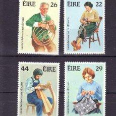 Sellos: IRLANDA 525/8 SIN CHARNELA, ARTESANIA, MUSICA, . Lote 10572231
