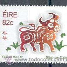 Sellos: IRLANDA 2009. AÑO DEL BUEY. CALENDARIO CHINO.. Lote 12219853