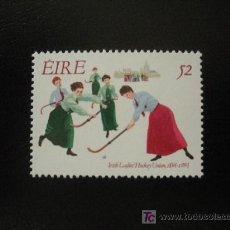 Sellos: IRLANDA 1994 YVERT 862 *** DEPORTE - CENTENARIO DE LA UNION FEMENINA IRLANDESA DE HOCKEY. Lote 15972229