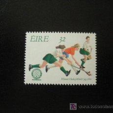 Sellos: IRLANDA 1994 YVERT 863 *** DEPORTE - GRUPO FEMENINO DE HOCKEY EN DUBLIN. Lote 15972288
