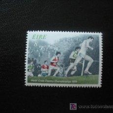 Sellos: IRLANDA 1979 IVERT 398 *** 7 CAMPEONATO DEL MUNDO DE CROSS - DEPORTES. Lote 17165379