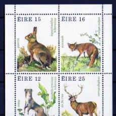 Sellos: IRLANDA AÑO 1980 YV HB 3*** FAUNA - FLORA - ANIMALES DEL BOSQUE - CAZA - NATURALEZA. Lote 22215746