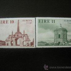 Sellos: IRLANDA 1978 IVERT 394/5 *** EUROPA - MONUMENTOS. Lote 23856616