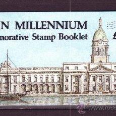 Sellos: IRLANDA CARNET 645*** - AÑO 1988 - MILENARIO DE DUBLÍN. Lote 24627621