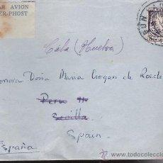 Sellos: CARTA DE IRLANDA A CALA. DE 4 DE AGOSTO DE 1947.. Lote 26763513