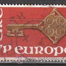 Sellos: IRLANDA IVERT 203, EUROPA 1968, USADO. Lote 27942288