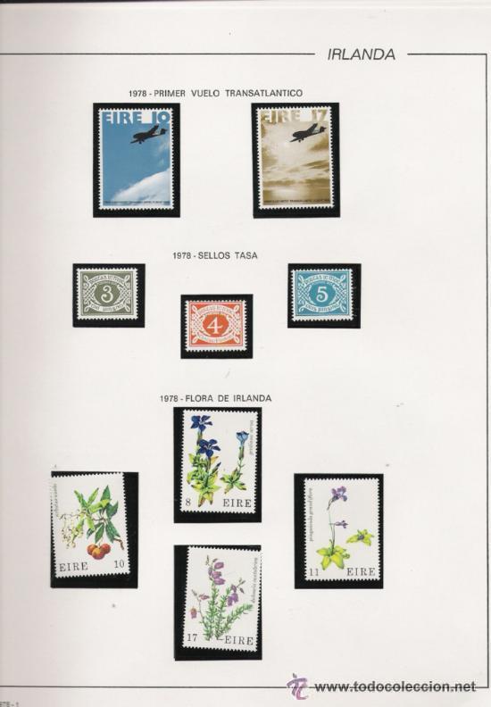 Sellos: GRAN COLECCION DE IRLANDA MONTADA EN ALBUM CON FILOESTUCHE 1950/1996 - Foto 6 - 30277754