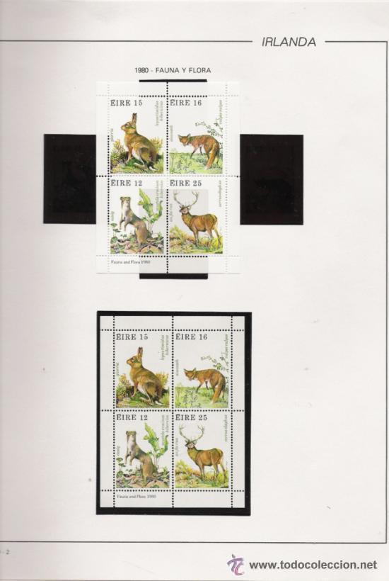 Sellos: GRAN COLECCION DE IRLANDA MONTADA EN ALBUM CON FILOESTUCHE 1950/1996 - Foto 7 - 30277754