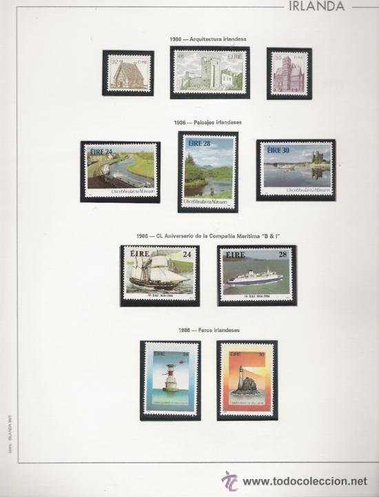 Sellos: GRAN COLECCION DE IRLANDA MONTADA EN ALBUM CON FILOESTUCHE 1950/1996 - Foto 10 - 30277754
