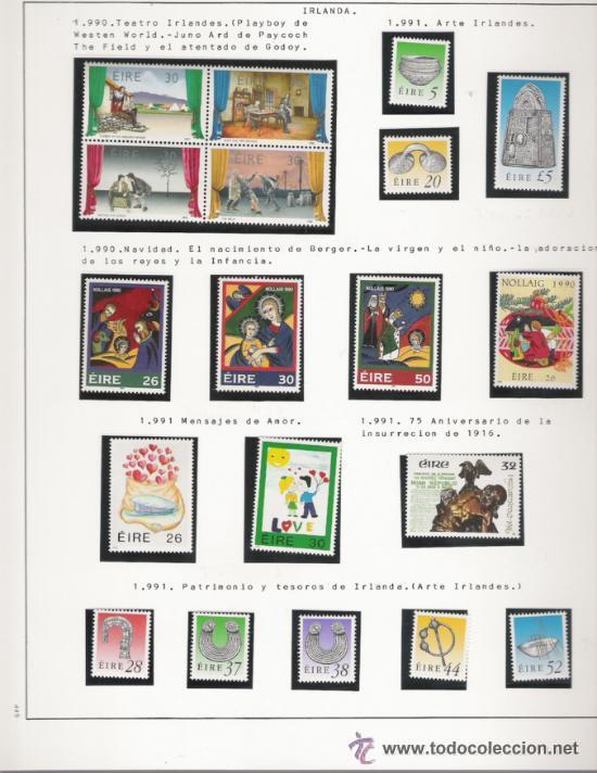 Sellos: GRAN COLECCION DE IRLANDA MONTADA EN ALBUM CON FILOESTUCHE 1950/1996 - Foto 13 - 30277754