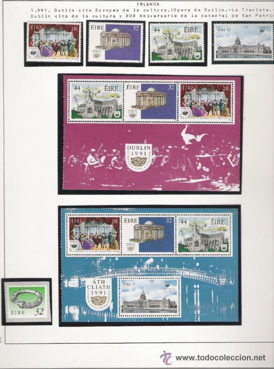 Sellos: GRAN COLECCION DE IRLANDA MONTADA EN ALBUM CON FILOESTUCHE 1950/1996 - Foto 14 - 30277754