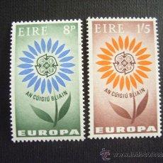 Sellos: IRLANDA Nº YVERT 167/8*** AÑO 1964. TEMA EUROPA. Lote 31962509