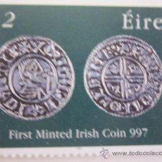 Sellos: SERIE SELLOS IRLANDA PRIMERA MONEDA IRLANDESA.AÑO 1997. Lote 33642962