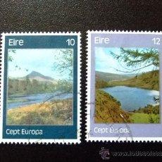 Sellos: IRLANDA 1977 YVERT & TELLIER Nº 363 / 364 º. Lote 36055078