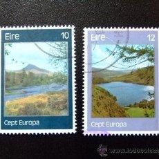 Sellos: IRLANDA 1977 YVERT & TELLIER Nº 363 / 364 º. Lote 36055092