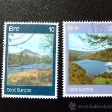 Sellos: IRLANDA 1977 YVERT & TELLIER Nº 363 / 364 º. Lote 36055105