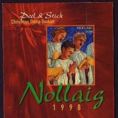 Sellos: IRLANDA. 1995. NAVIDAD. CARNET DE SELLOS ADHESIVOS. YVERT C 1113. Lote 36244436