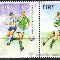 Sellos: IRLANDA. 1994. MUNDIAL DE FÚTBOL EN ESTADOS UNIDOS. YVERT 860/1. Lote 36303102