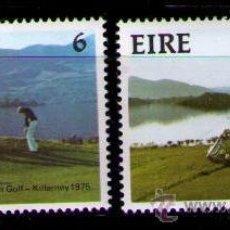 Sellos: IRLANDA 1975 - DEPORTES - GOLF - YVERT Nº 324-325. Lote 40256064